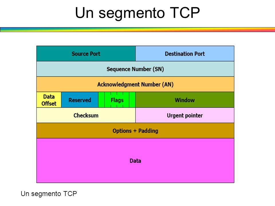 Un segmento TCP