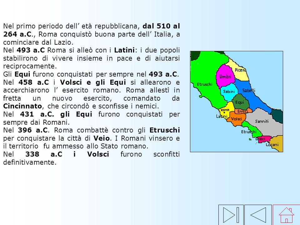 Secondo la tradizione, Romolo fondò Roma, diede alla città le prime leggi, distinse la popolazione in patrizi (ricchi proprietari) e plebei (agricolto
