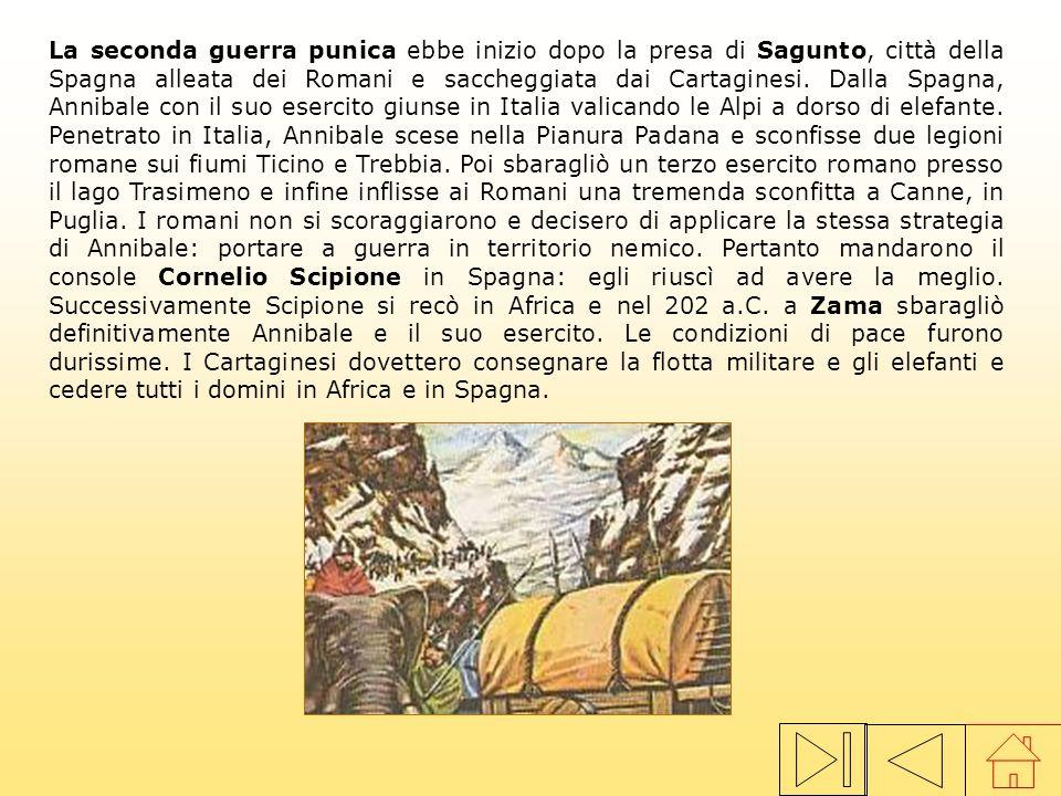 Roma sognava da tempo di cacciare i cartaginesi da tutta la Sicilia. Per riuscirvi occorreva costruire una flotta potente. I Romani allestirono 120 na