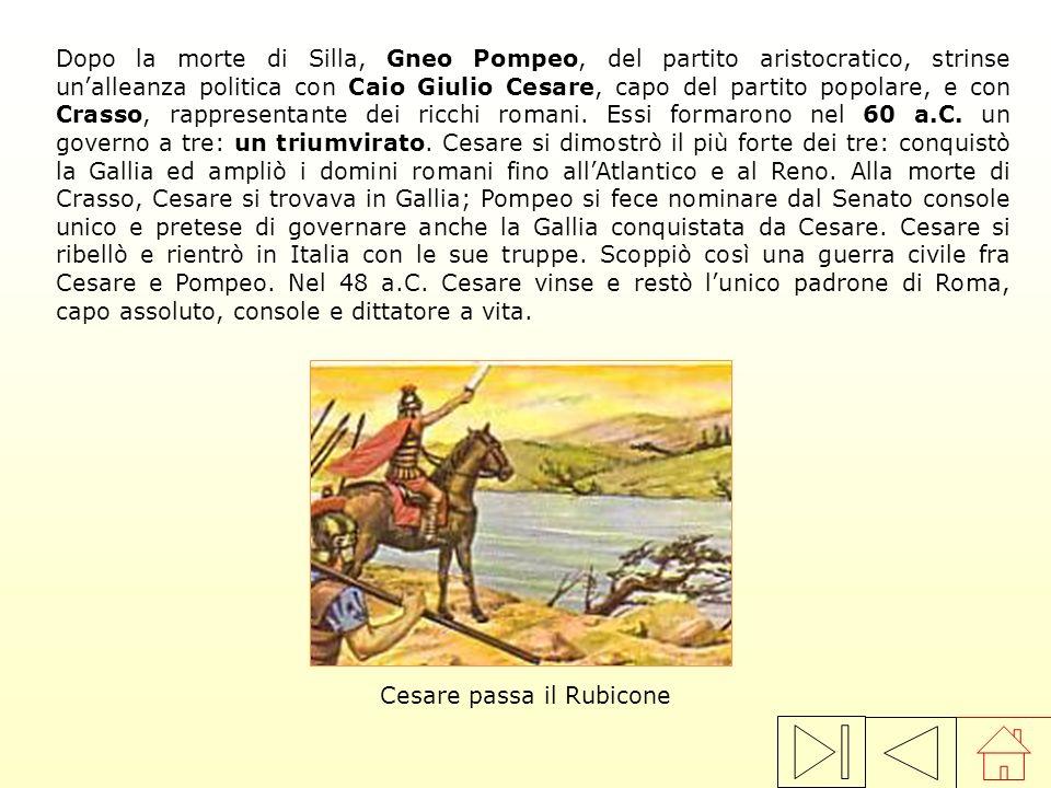 I due fratelli Tiberio e Gaio Gracco affrontarono il problema della giusta distribuzione della terra di proprietà dello Stato che finiva sempre nelle