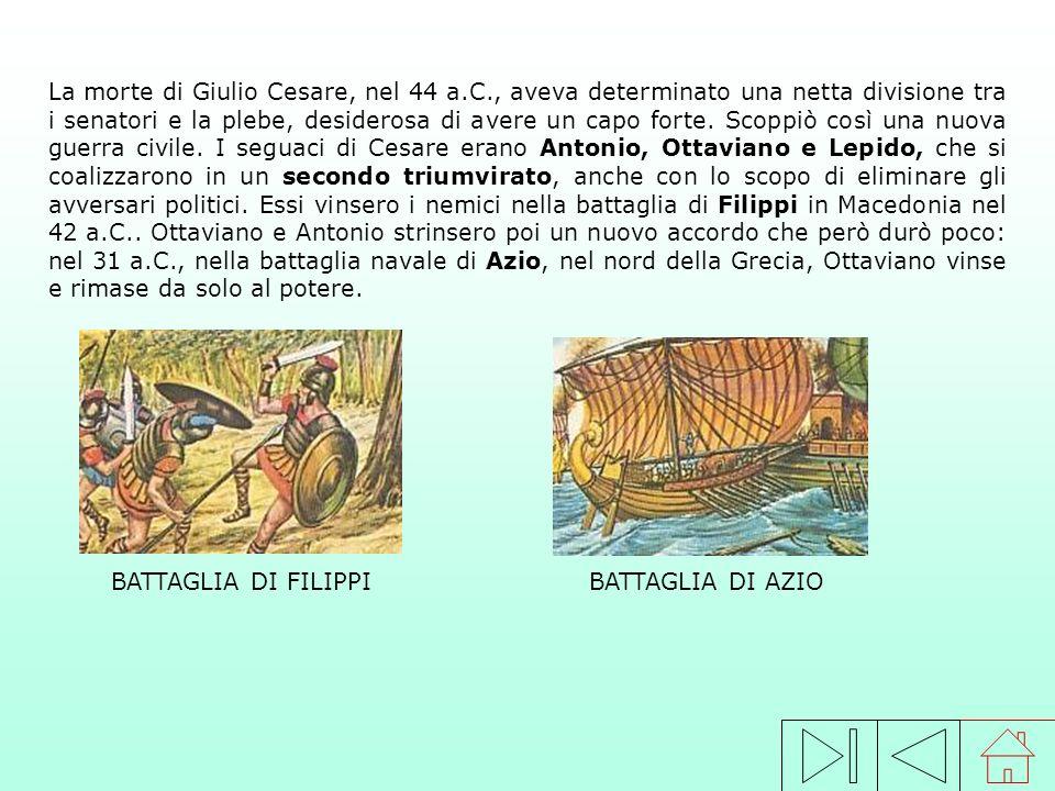 Cesare introdusse importanti riforme a favore del popolo: distribuì terre pubbliche ai contadini poveri; concesse la cittadinanza romana alle città de