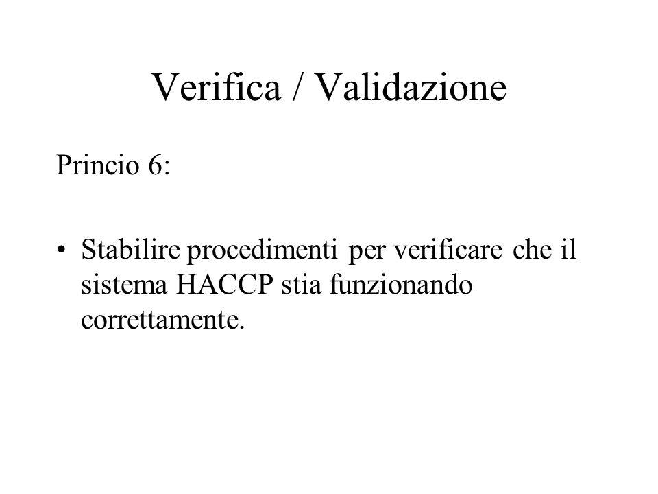 Registrazioni delle azioni correttive Informazioni richieste: Identificazione del prodotto (es.: descrizione del prodotto, quantità di prodotto tratte