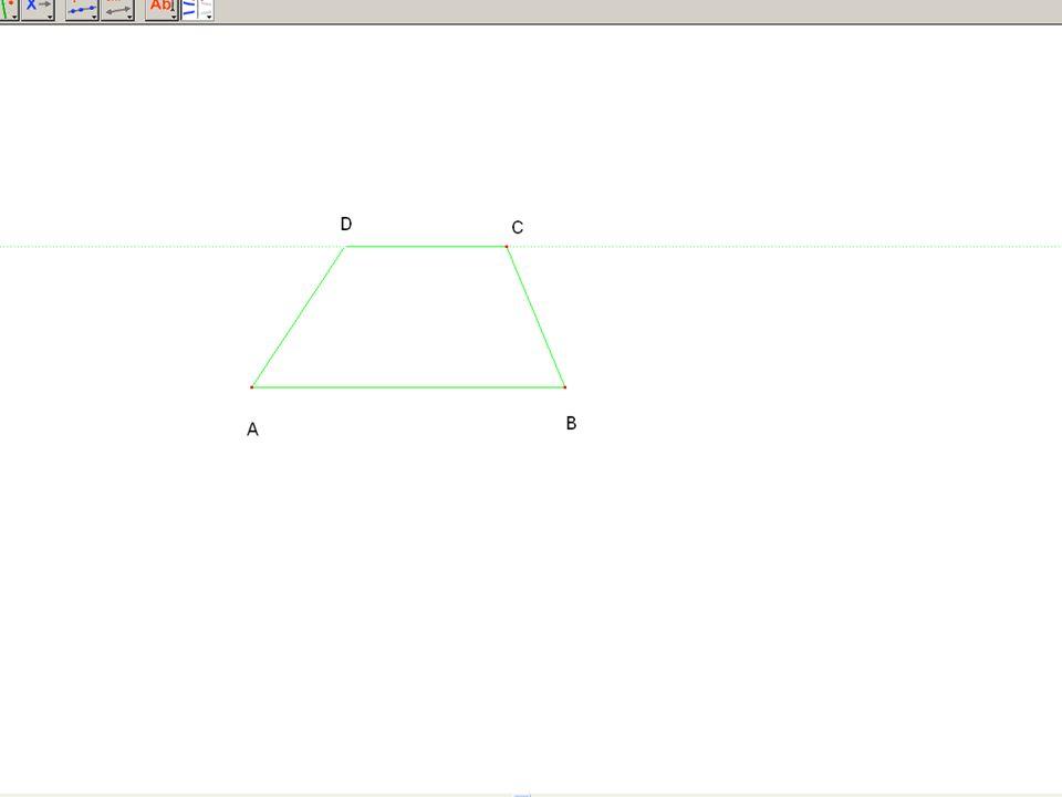 TEOREMA 1: In un trapezio gli angoli adiacenti a ogni lato obliquo sono supplementari DIMOSTRAZIONE Considero adiacenti al lato obliquo BC.