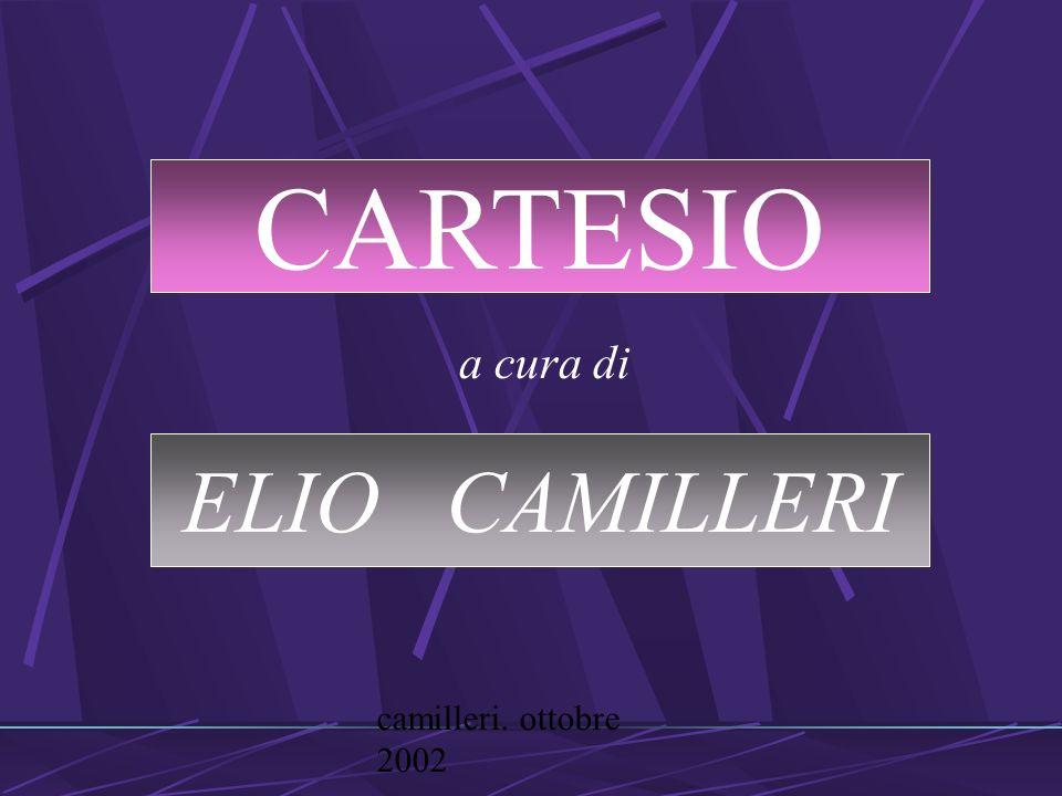 camilleri. ottobre 2002 a cura di CARTESIO ELIO CAMILLERI
