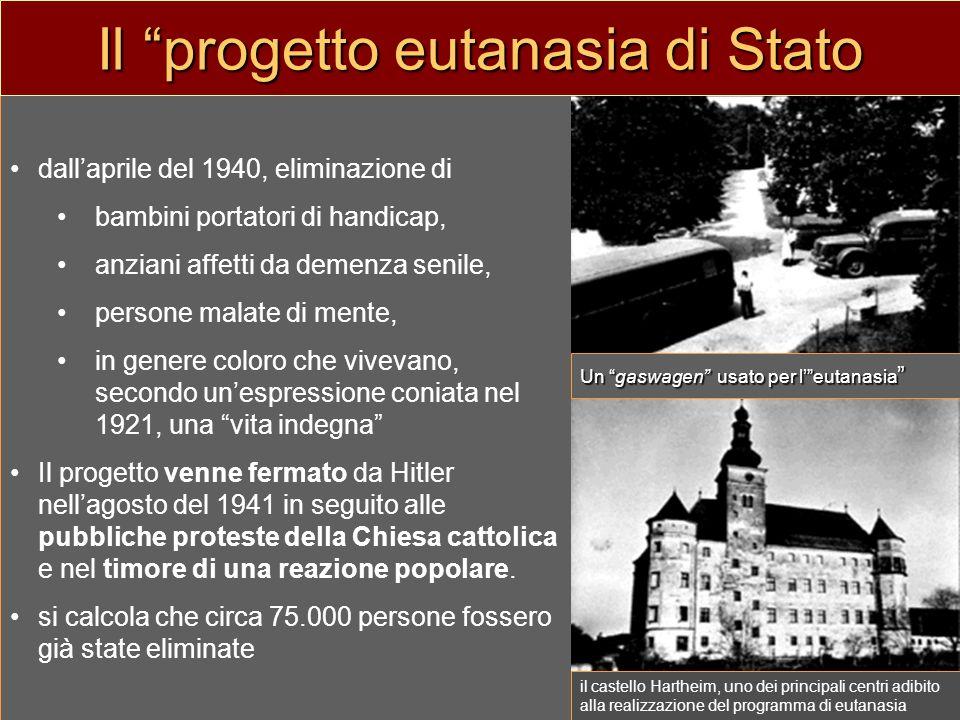 Nellufficio del caposervizio Viktor Brack nella Cancelleria del Führer insieme ad altri mi occupai, fin verso il 1941, del p pp programma eutanasia.