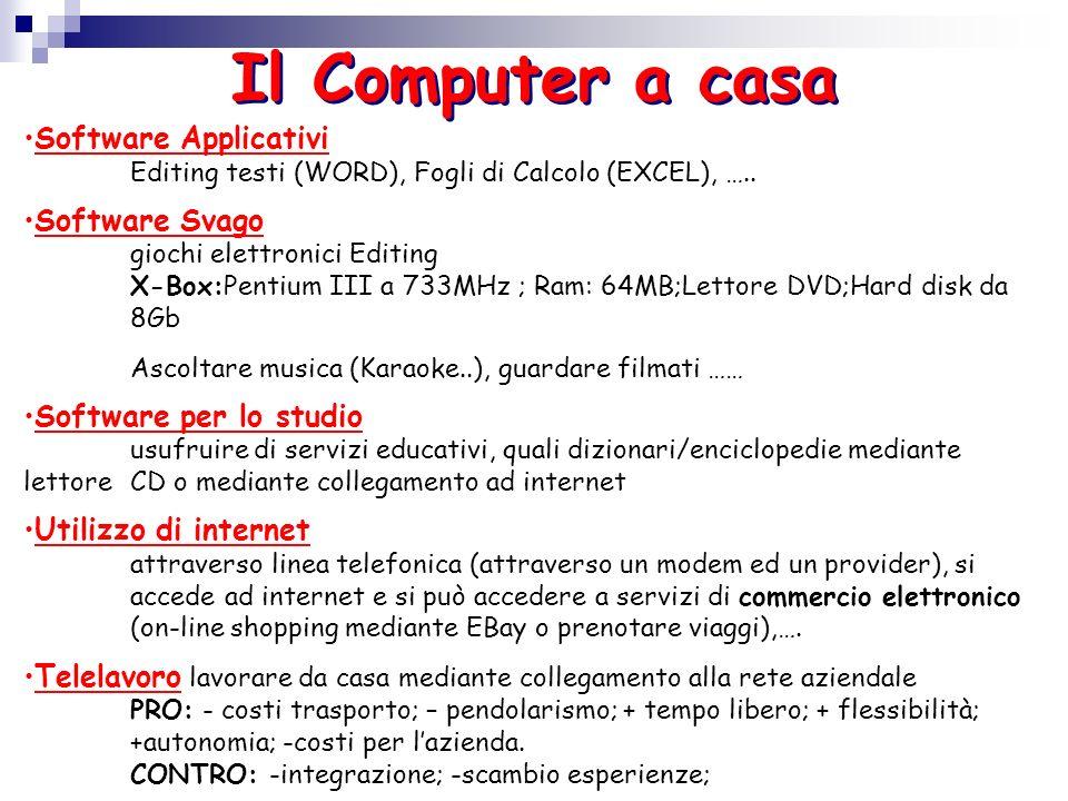 Il Computer al lavoro In ufficio 1)Con il termine Office Automation (o automazione dufficio) si intende linsieme di strumenti hardware e software, che facilitano i compiti rendendo più efficiente il lavoro dufficio.