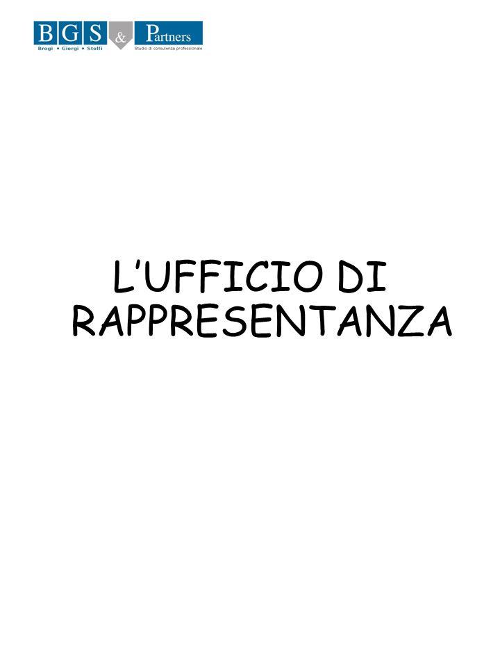 LUFFICIO DI RAPPRESENTANZA