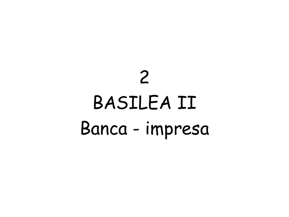 2 BASILEA II Banca - impresa