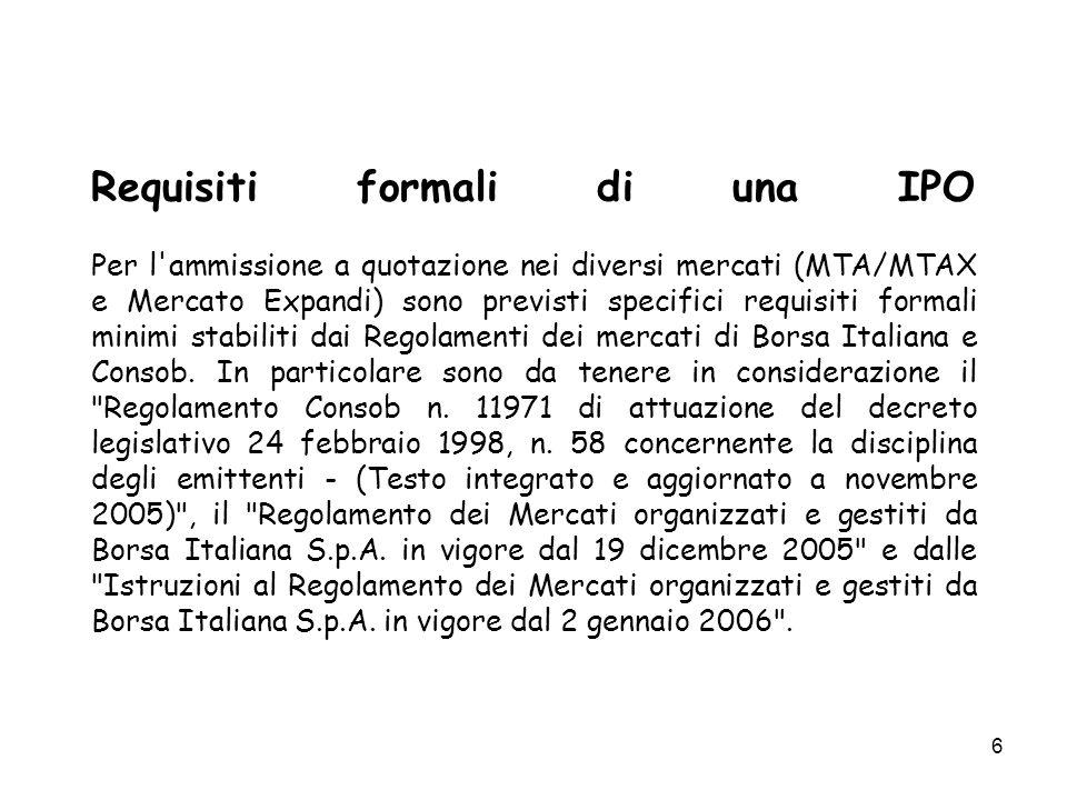 57 S.P.A.MODELLO MONISTICO CONTROLLO CONTABILE S.P.A.