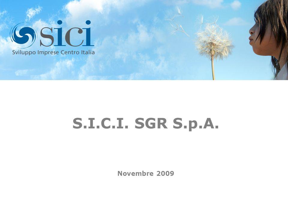 I S.I.C.I. SGR S.p.A. Novembre 2009