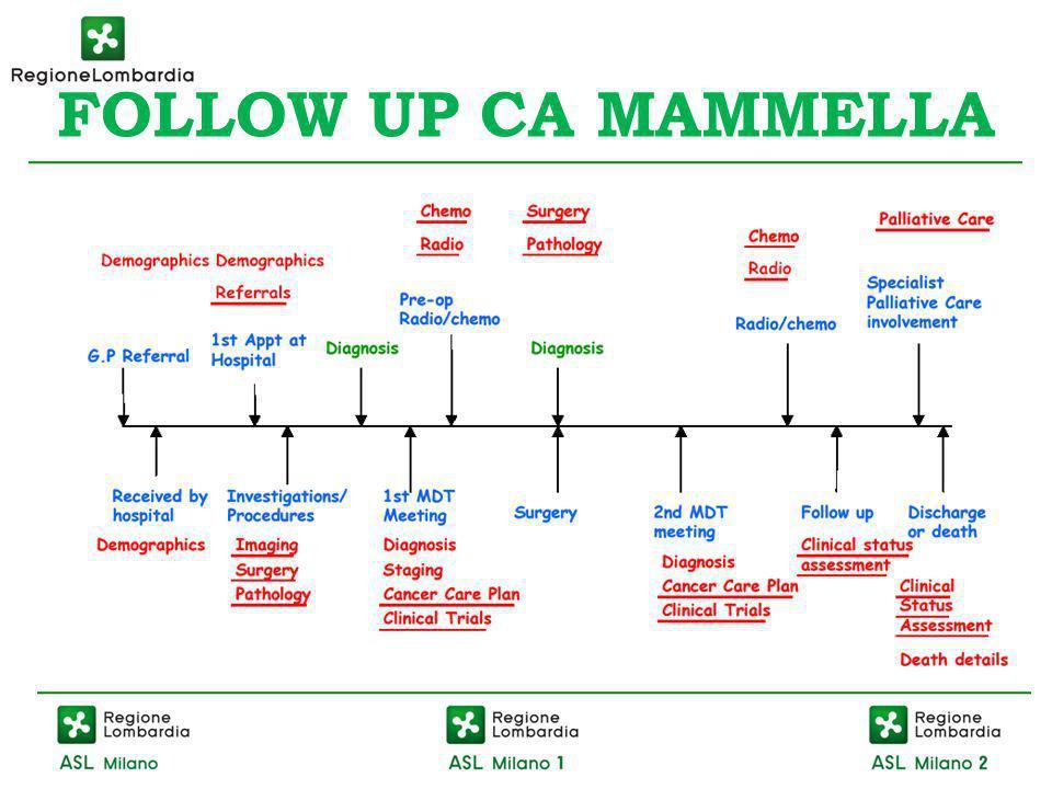 FOLLOW UP CA MAMMELLA