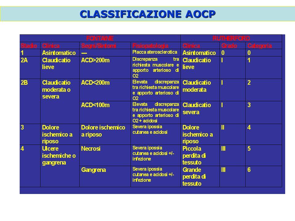 CLASSIFICAZIONE AOCP