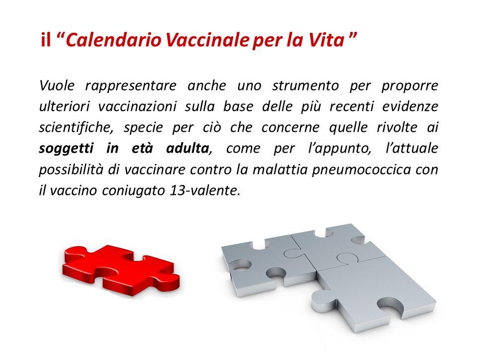 Vuole rappresentare anche uno strumento per proporre ulteriori vaccinazioni sulla base delle più recenti evidenze scientifiche, specie per ciò che con