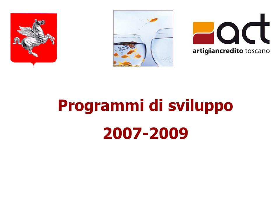 Programmi di sviluppo 2007-2009