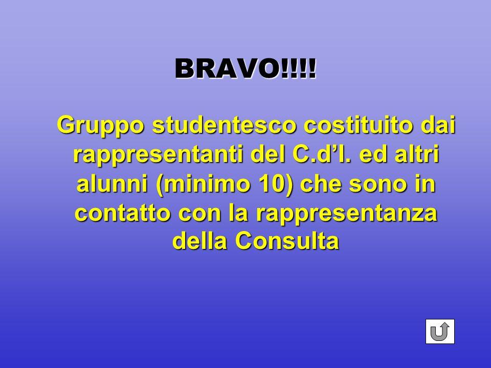 BRAVO!!!! Acquisizione di una competenza aggiuntiva verificata, valutata e certificata da un ente esterno