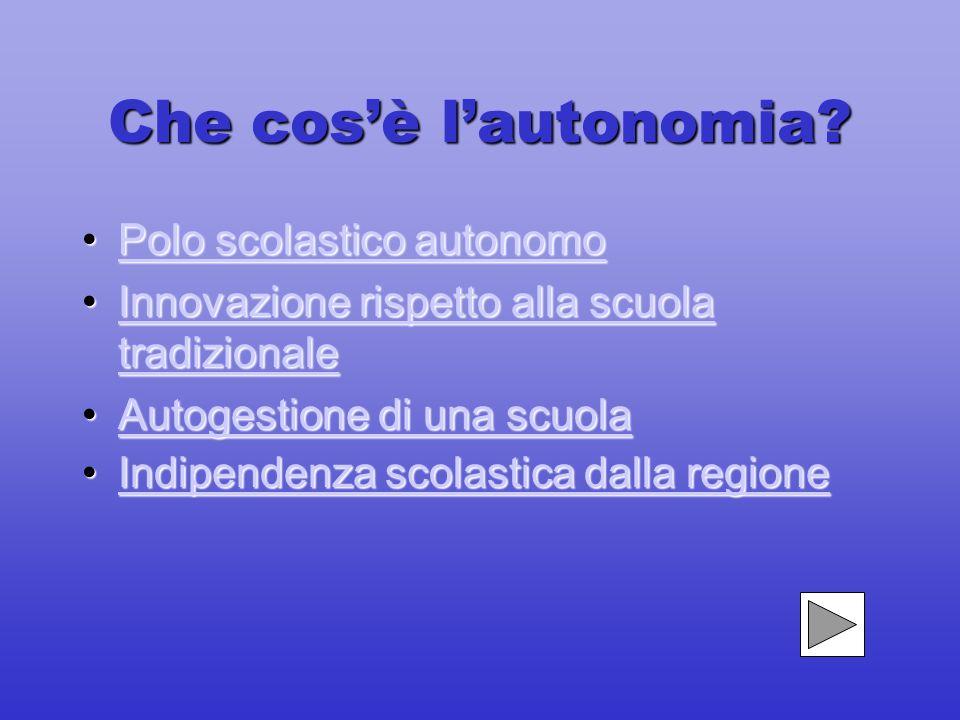Liceo Calamandrei-Napoli A lezione di Autonomia