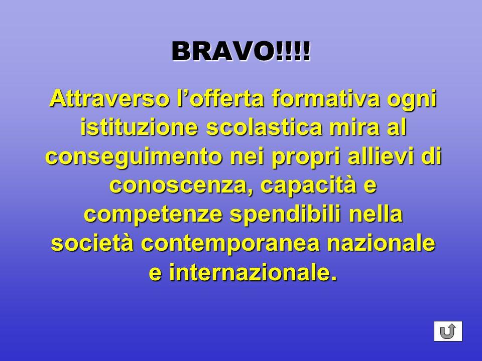 BRAVO!!!! Documento che indirizza verso una cultura della partecipazione attiva e responsabile delle studentesse e degli studenti alla vita della scuo