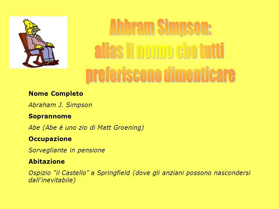 Nome Completo Abraham J.