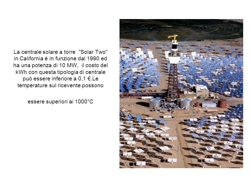 La centrale solare a torre
