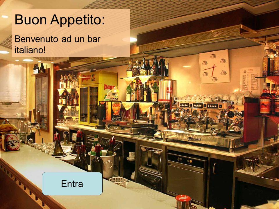 Buon Appetito: Benvenuto ad un bar italiano! Entra