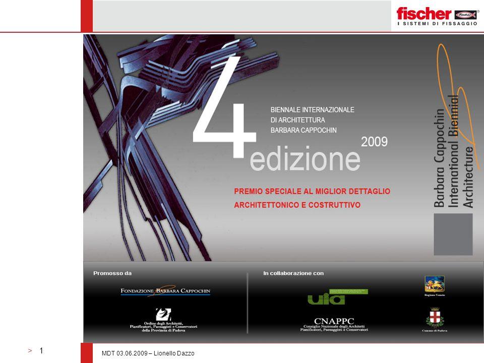 > 1 MDT 03.06.2009 – Lionello Dazzo