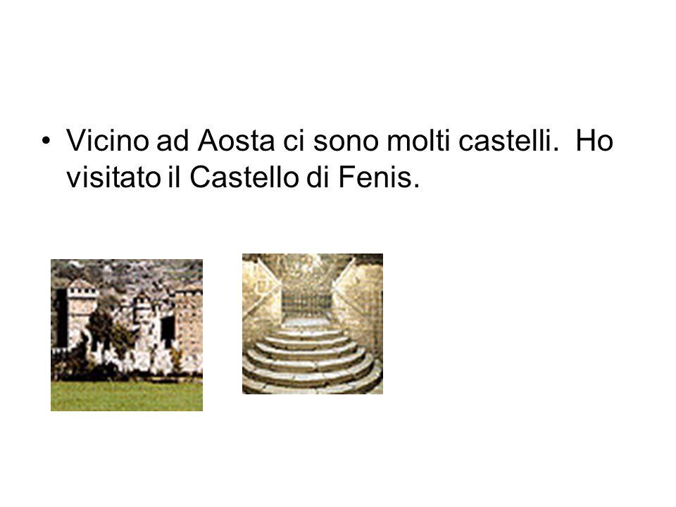 Vicino ad Aosta ci sono molti castelli. Ho visitato il Castello di Fenis.