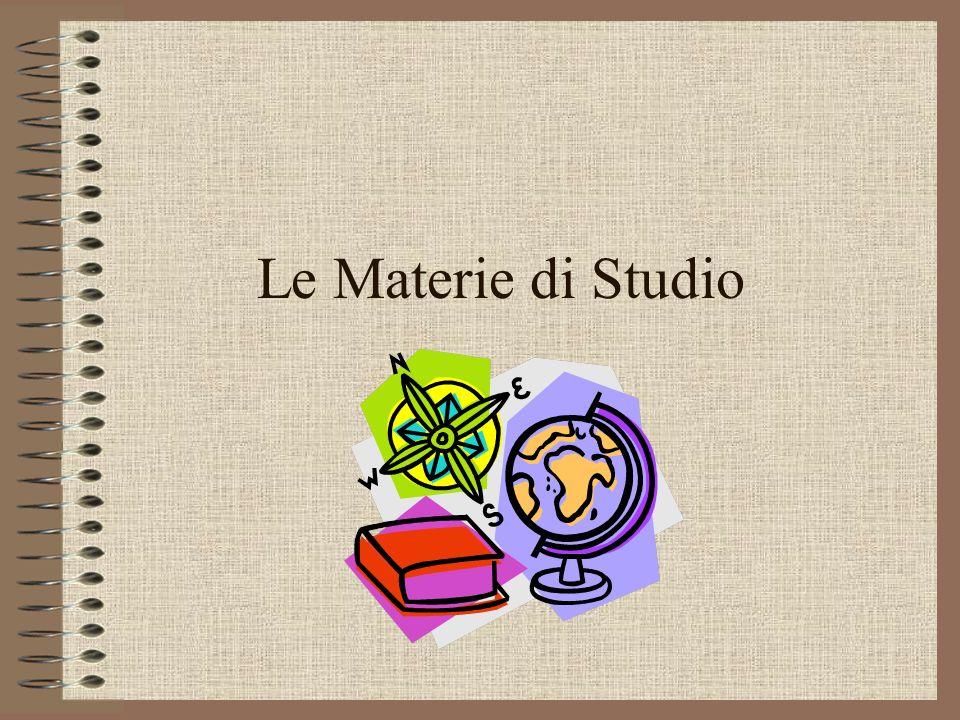 Le Materie di Studio