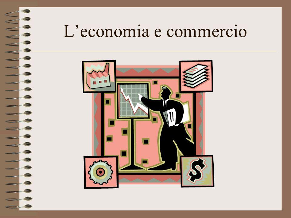 Leconomia e commercio