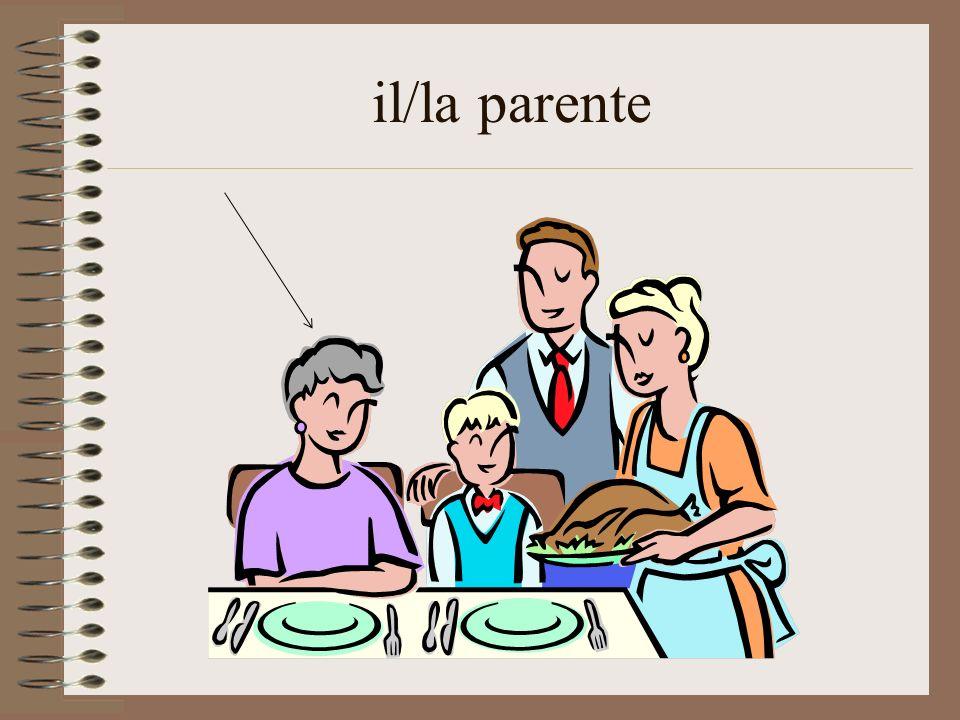 il/la parente
