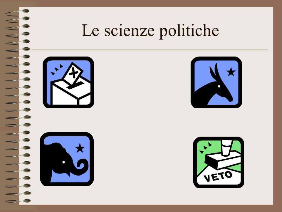Le scienze politiche
