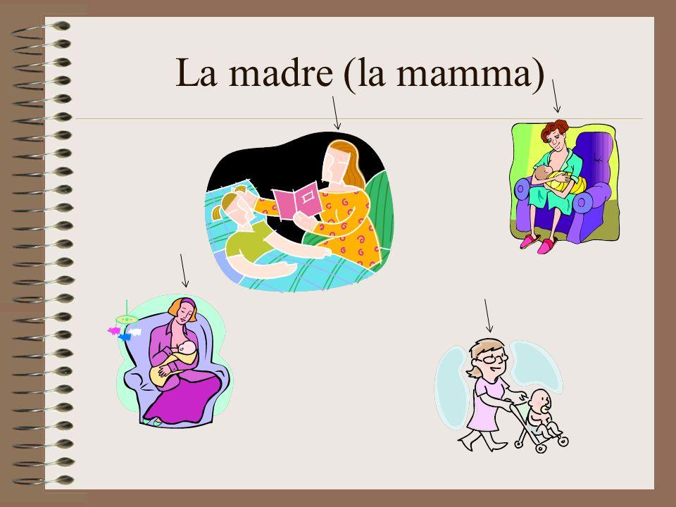 La madre (la mamma)