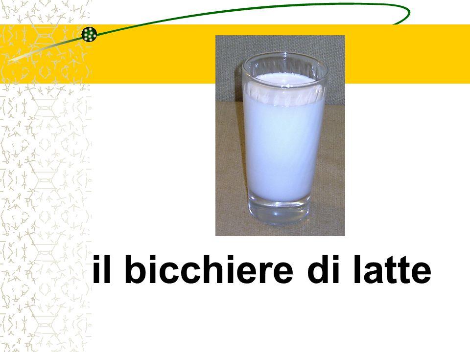 il bicchiere di latte
