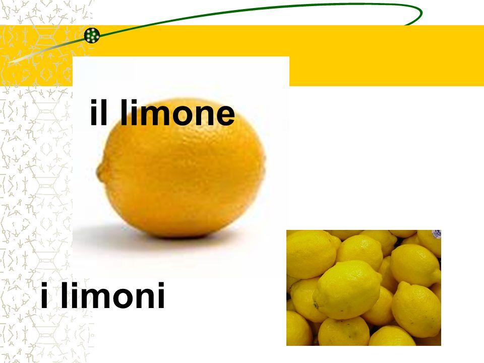 il limone i limoni