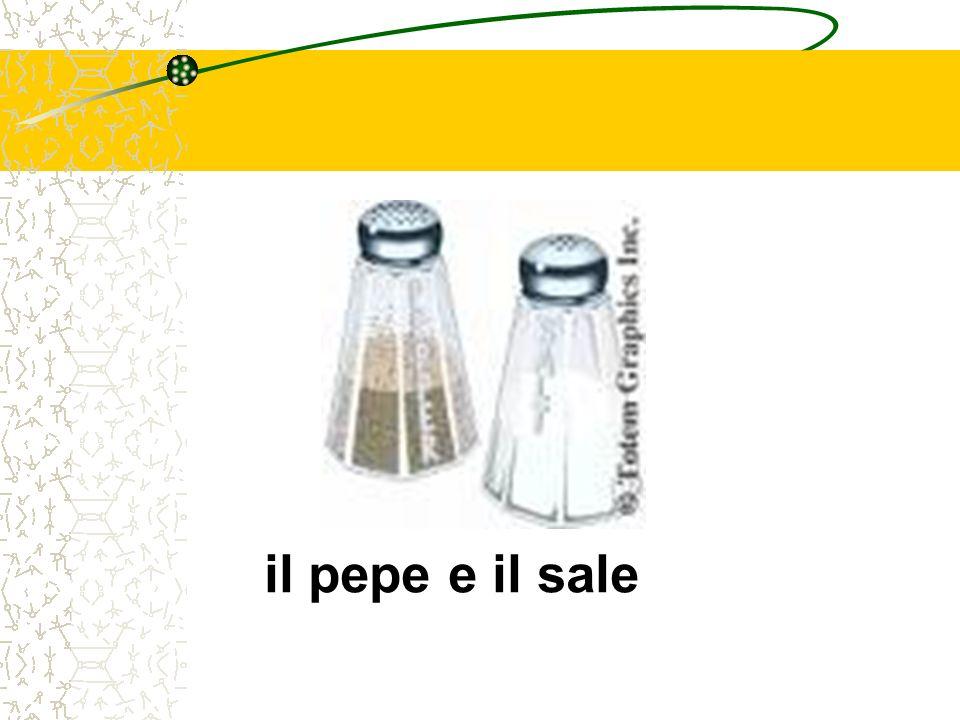 il pepe e il sale