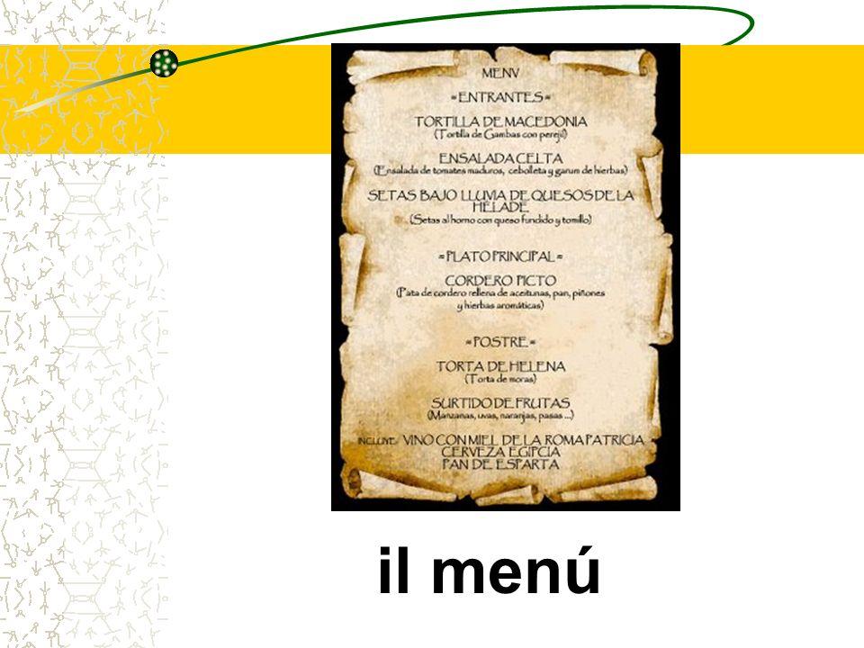 il menú