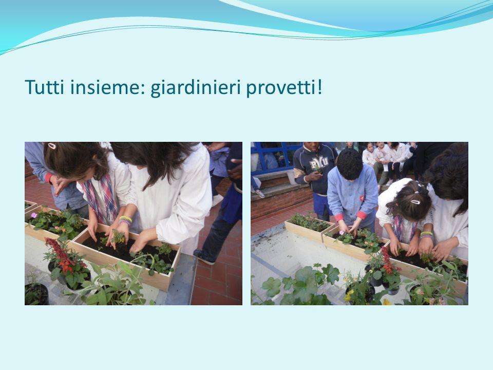 Tutti insieme: giardinieri provetti!