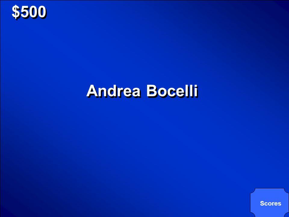 Chi è il cantante italiano, dalla Toscana, il quale e famoso ciò per la musica pop che per la sua interpretazione dellopera lirica.