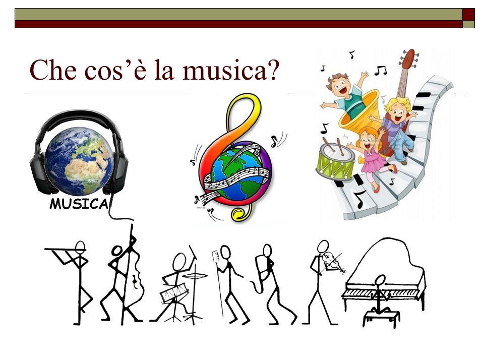 Che cosè la musica?