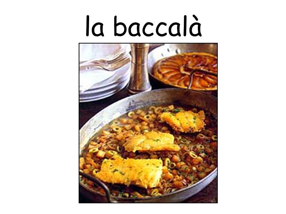 la baccalà