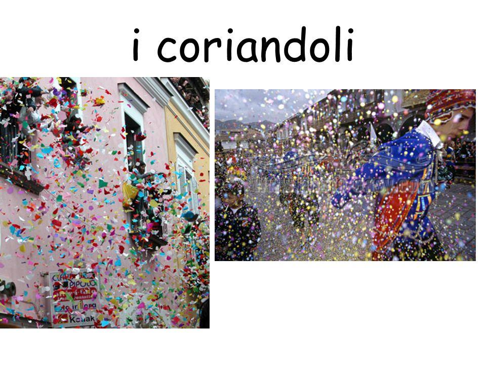 i coriandoli