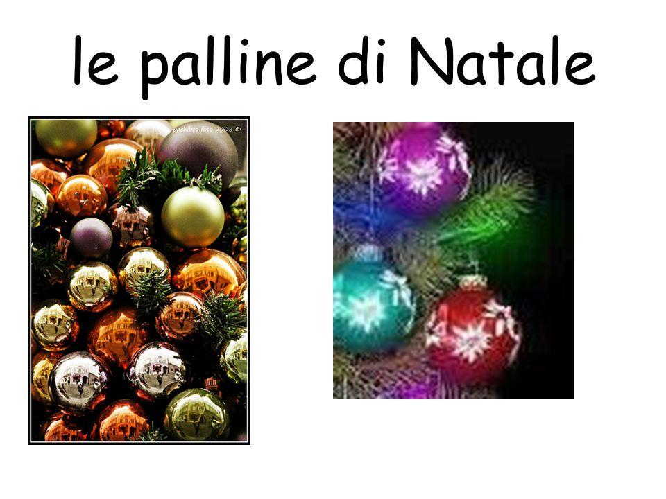 le palline di Natale