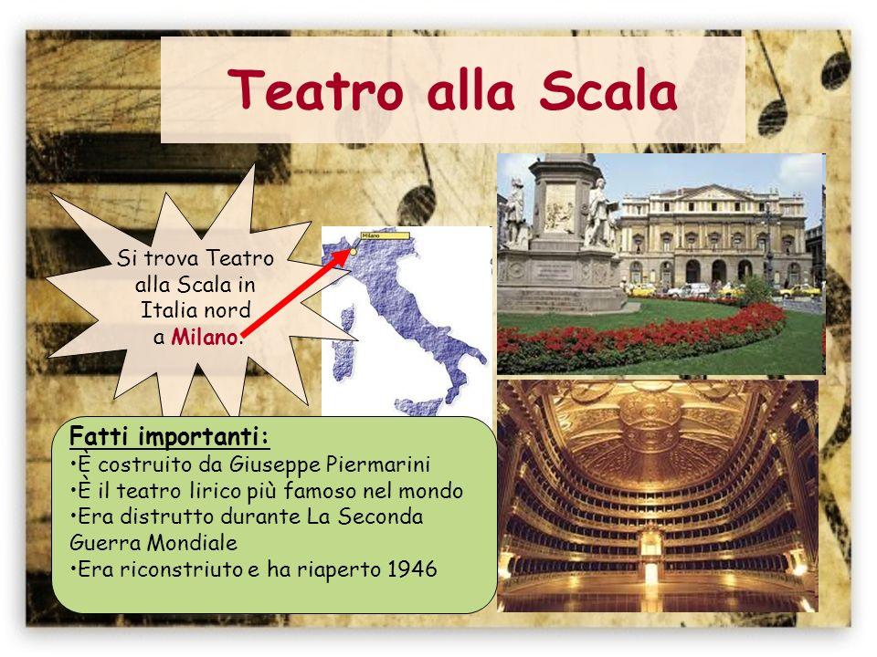 Teatro La Fenice Si trova Teatro il Fenice in Italia nord a Venezia.
