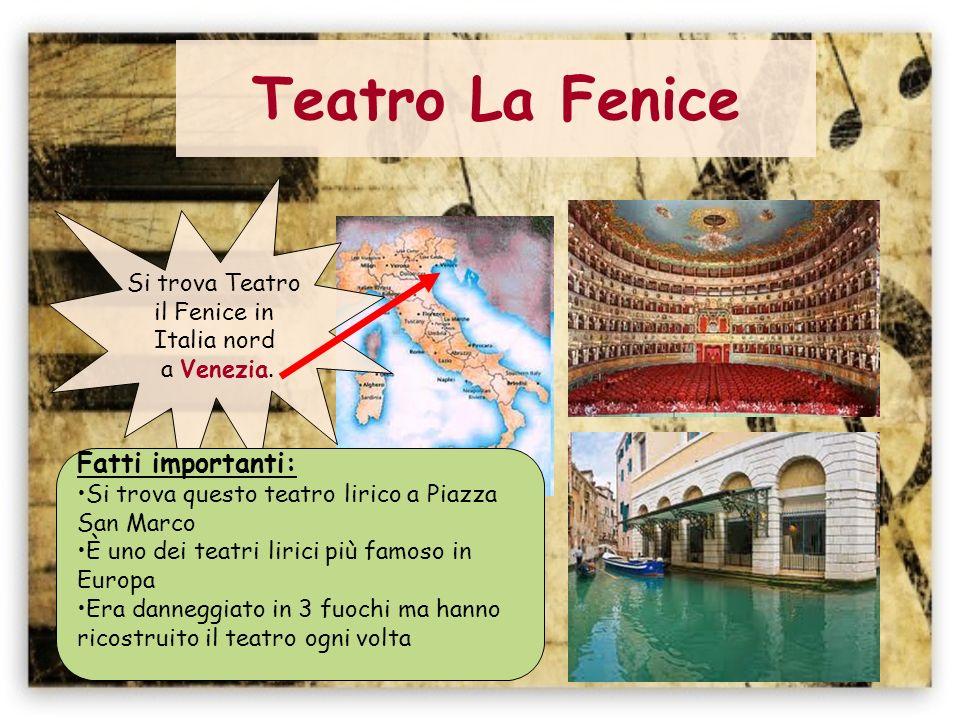 Teatro San Carlo Si trova Teatro San Carlo in Italia sud a Napoli.