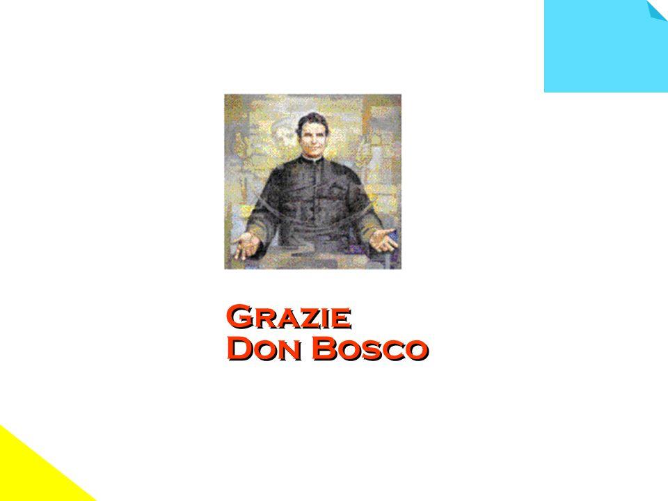 Grazie Don Bosco
