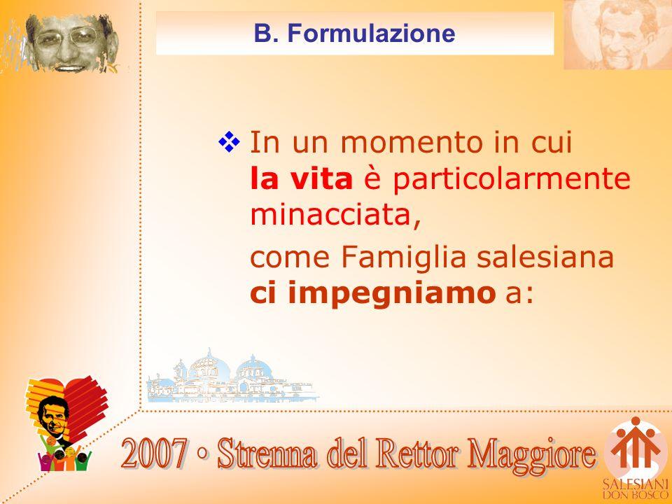 B. Formulazione