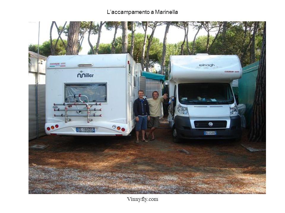 Vinnyfly.com Laccampamento a Marinella