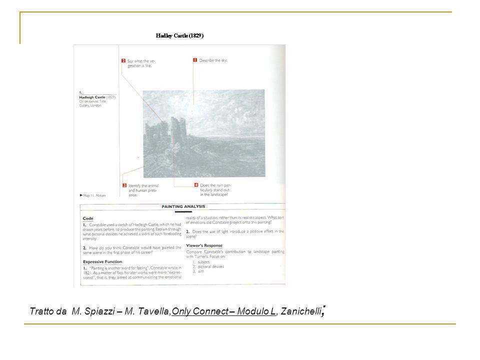 Organizzazione Storia dellarte IngleseVerificheCompresenza LetturaProduzione2 verifiche scritte 3 ore