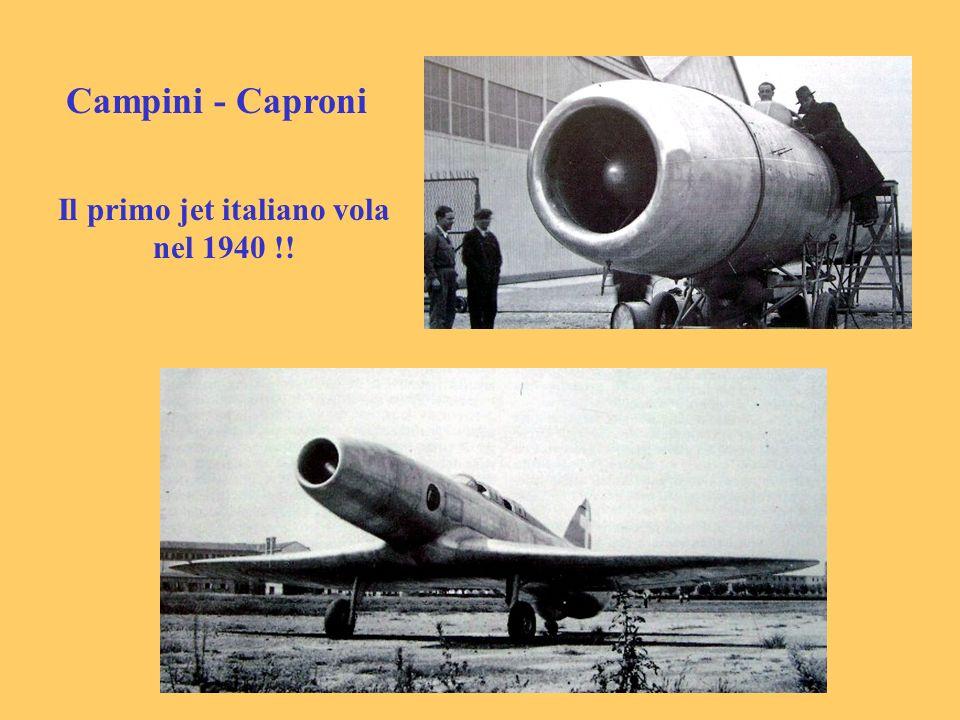 Campini - Caproni Il primo jet italiano vola nel 1940 !!
