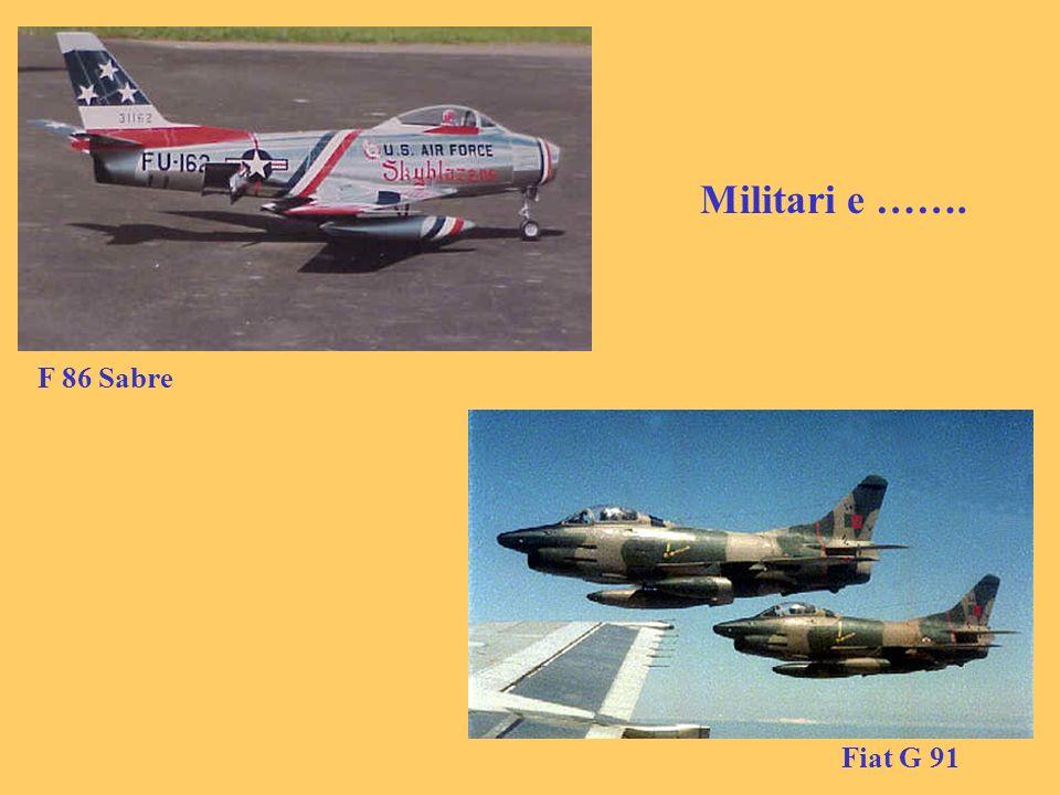 Militari e ……. F 86 Sabre Fiat G 91