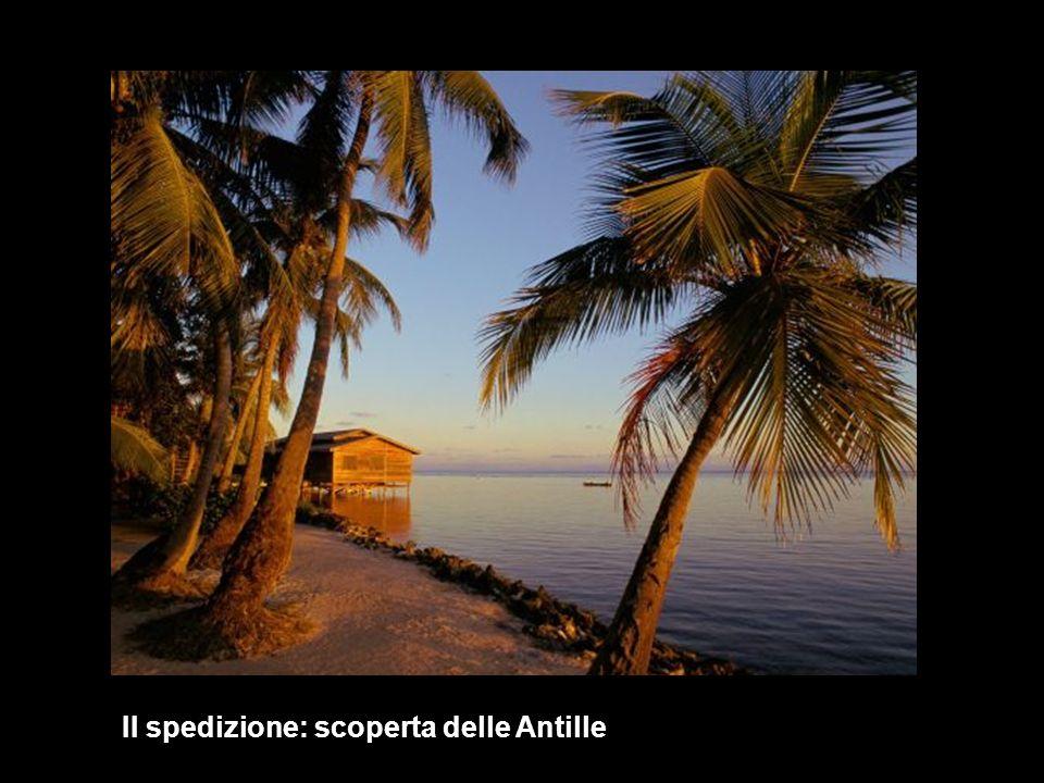 1493 Seconda spedizione: le Antille II spedizione: scoperta delle Antille